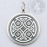 celtic cross pendant celtic knot pendant celtic jewelry norse knot pendant ancient celtic cross knot pendant scandinavian knot scandinavian cross pendant
