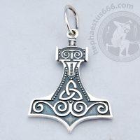Mjolnir silver pendant thor's hammer pendant hammer of thor pendant thor hammer pendant norse jewelry mjolnir pendant