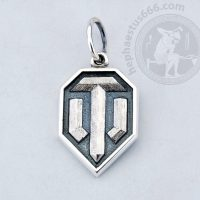 world of tanks pendant world of tanks jewelry wot pendant world of tanks logo pendant wot jewelry