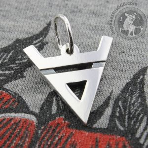 veles symbol silver pendant veles pendant veles god pendant veles slavic god silver pendant norse symbols norse jewelry slavic jewelry