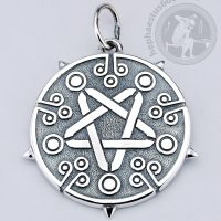 witcher yennefer silver pendant witcher pendant yennefer pendant yennefer pendant from witcher yennefer pentagram pendant