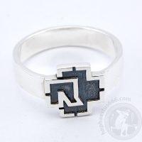 rammstein silver ring rammstein ring rammstein jewelry rammstein merch rammstein logo ring