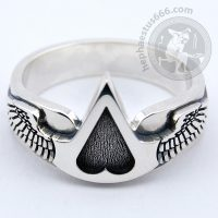 assassin's creed silver ring assassins creed ring assassin ring assassin creed ring assassin's creed jewelry assassin jewelry