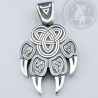 wolf claw 925 silver pendant wolf claw pendant wolf claw veles pendant veles slavic jewelry norse wolf