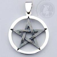 pentagram pendant pentagram jewelry pentagram silver pendant symbol pentagram occult jewelry 5 point star pendant pentagrama