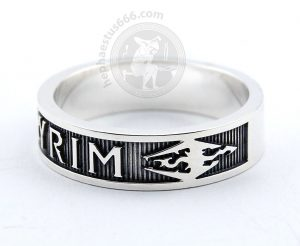 skyrim silver ring skyrim ring skyrim jewelry skyrim dragon ring skyrim