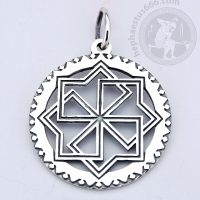molvinets silver pendant molvinets pendant molvinets slavic symbol molvinets jewelry ancient geometry jewelry slavic pendant molvinets pattern