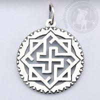 Valkyrie silver pendant valkyrie symbol pendant valkyrie slavic jewelry valkyrie norse pendant norse jewelry valkyrie viking pendant