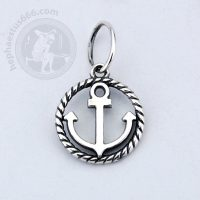anchor silver pendant anchor pendant sailor pendant sea pendant anchor jewelry sea jewelry sailor jewelry