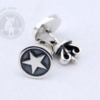 star earrings star jewelry stars earrings 5 point star stud earrings