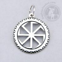 kolovrat silver pendant kolovrat pendant kolovrat jewelry slavic pendant kolovrat slavic jewelry kolovrat norse ancient symbol pendant
