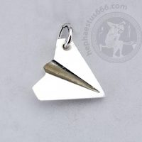 paper plane pendant folded paper plane pendant paper airplane pendant minimalist jewelry airplain jewelry air jewelry air pendant
