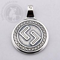 jera rune silver pendant jera elder futhark rune jewelry jera futhark pendant futhark jewelry jera norse jera pendant futhark