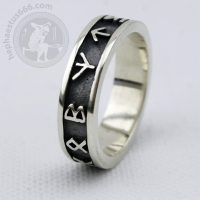runes ring futhark ring elder futhark ring runes futhark ring elder futhark jewelry viking ring norse ring norse jewelry