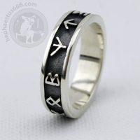 runes ring futhark ring elder futhark ring runes futhark ring elder futhark jewelry viking ring norse ring norse jewelry