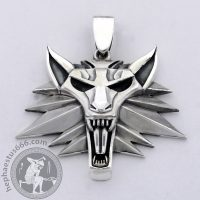 witcher pendant witcher jewelry wolf head pendant wolf pendant wolf jewelry witcher merch werewolf pendant werewolf jewelry witcher wolf witcher game jewelry gamer pendant geek pendant geek jewelry witcher fan gift witcher official witcher medallion