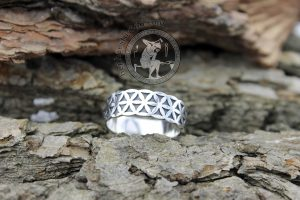 seed of life ring sacred geometry jewelry seed of life jewelry seed of life silver ring flower of life ring flower of life pattern flower of life jewelry sacred jewelry geometry jewelry fractal jewelry ornamental jewelry fibonacci jewelry sonic geometry jewelry Vesica piscis jewelry