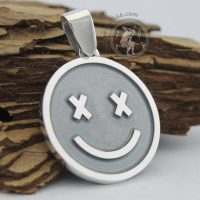 smile pendant smile necklace custom jewelry custom jeweller smile silver pendant custom pendant